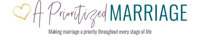 A Prioritized Marriage Blog